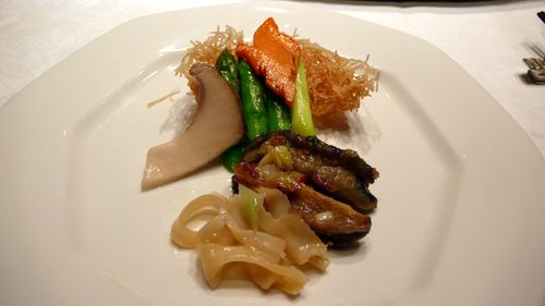 Abalone and  king clam